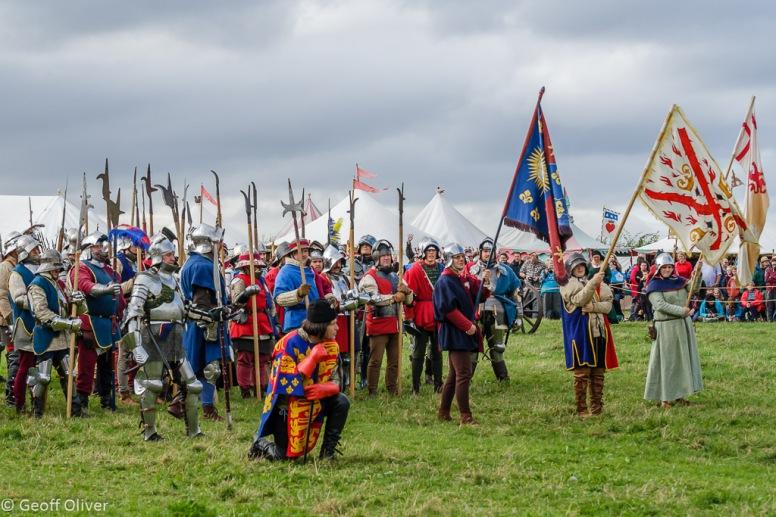 Bosworth Battlefield Anniversary Re-enactment 2013