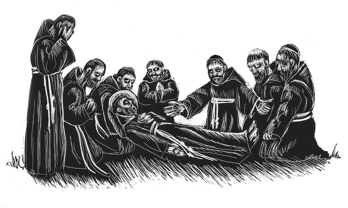 """He Died Singing"" – the Transitus of Saint Francis"