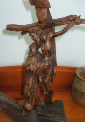 Francis & crucifix Brisbane