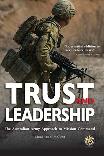Trust and Obey – leaders in the AustralianArmy